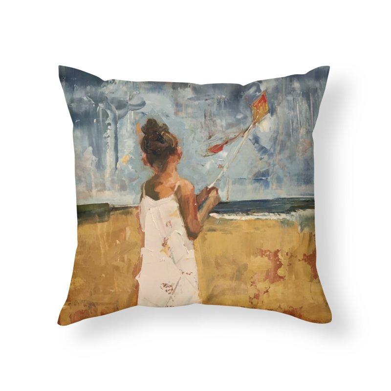 MarchWinds Home Throw Pillow by JPayneArt's Artist Shop