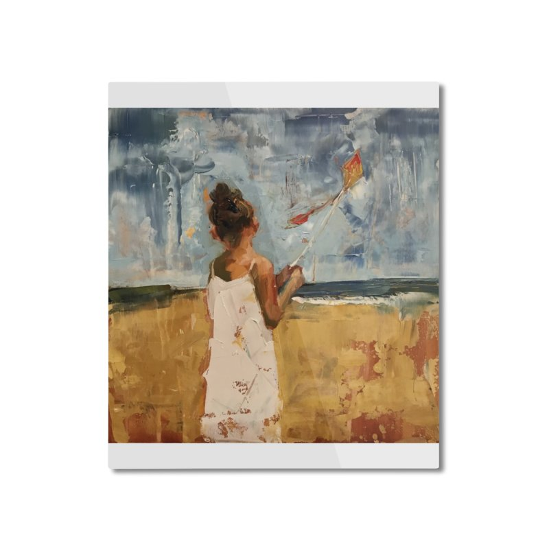 MarchWinds Home Mounted Aluminum Print by JPayneArt's Artist Shop