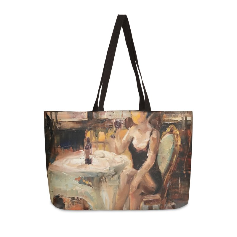 Little Black Dress Accessories Weekender Bag Bag by JPayneArt's Artist Shop