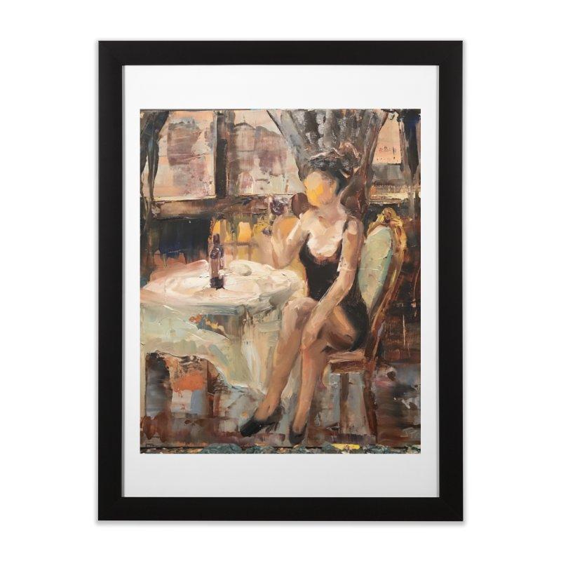 Little Black Dress Home Framed Fine Art Print by JPayneArt's Artist Shop