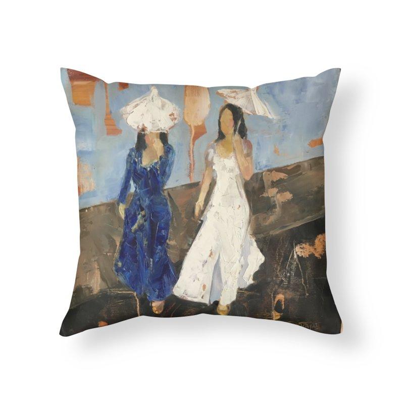 Lunar Dragon Parade Home Throw Pillow by JPayneArt's Artist Shop