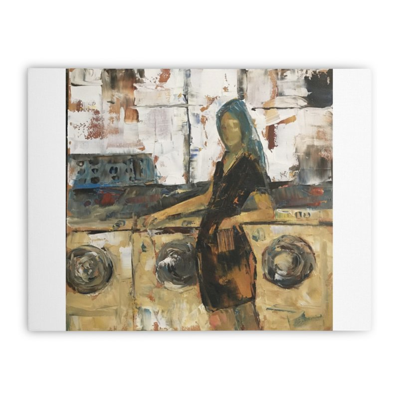 Laundry Day Home Stretched Canvas by JPayneArt's Artist Shop