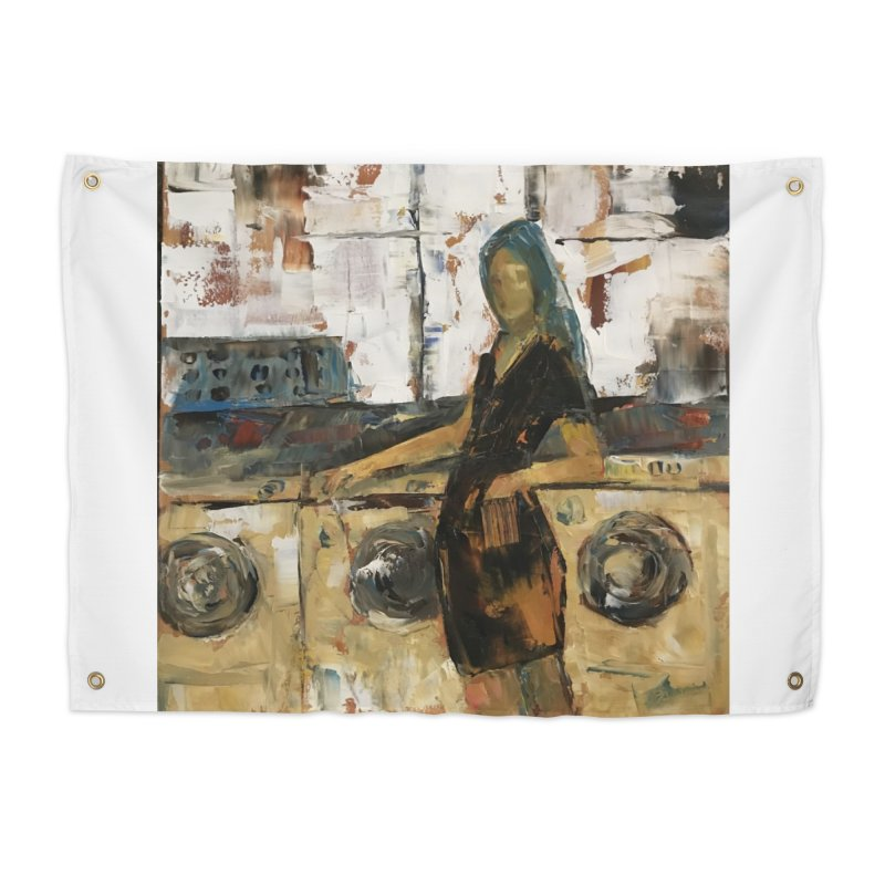 Laundry Day Home Tapestry by JPayneArt's Artist Shop