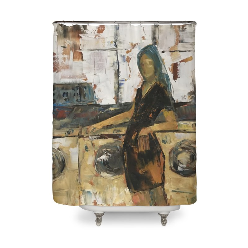 Laundry Day Home Shower Curtain by JPayneArt's Artist Shop