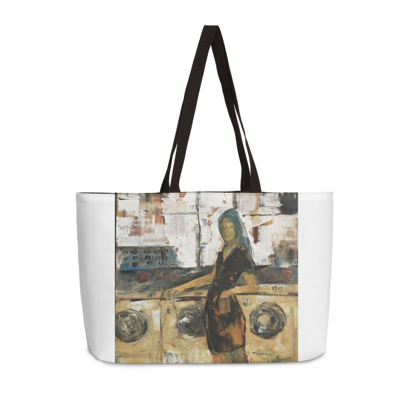 Laundry Day Accessories Weekender Bag Bag by JPayneArt's Artist Shop