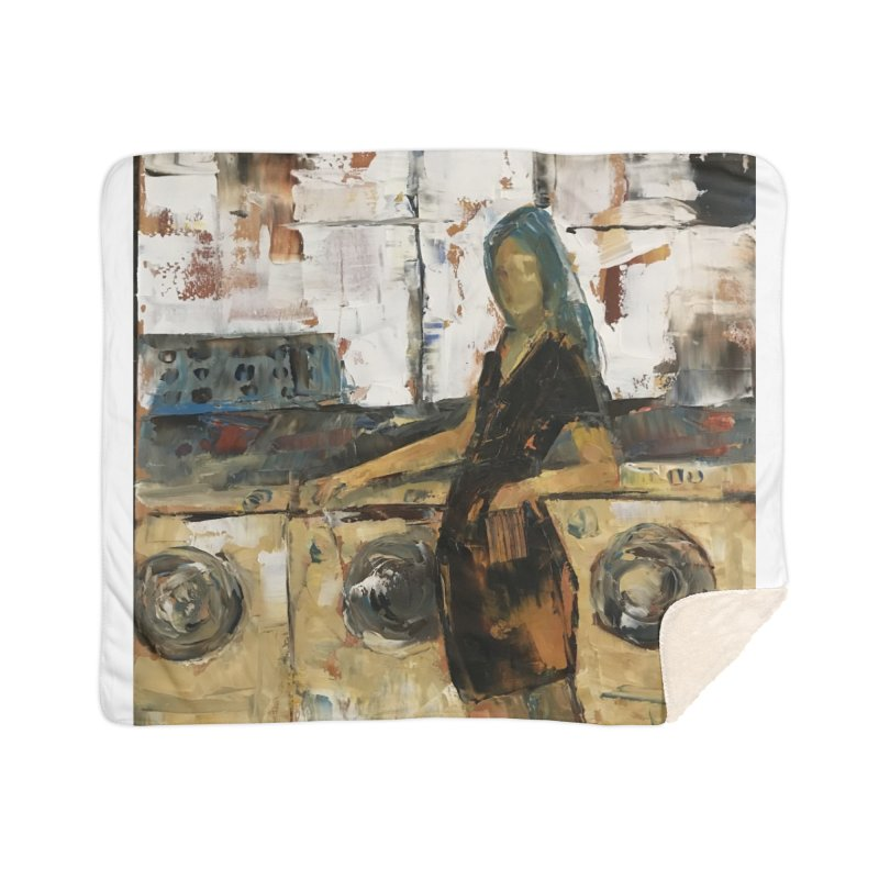Laundry Day Home Sherpa Blanket Blanket by JPayneArt's Artist Shop