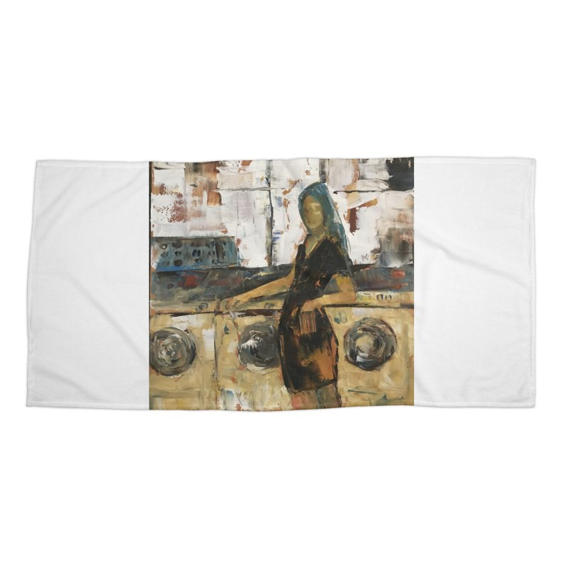 Laundry Day Accessories Beach Towel by JPayneArt's Artist Shop