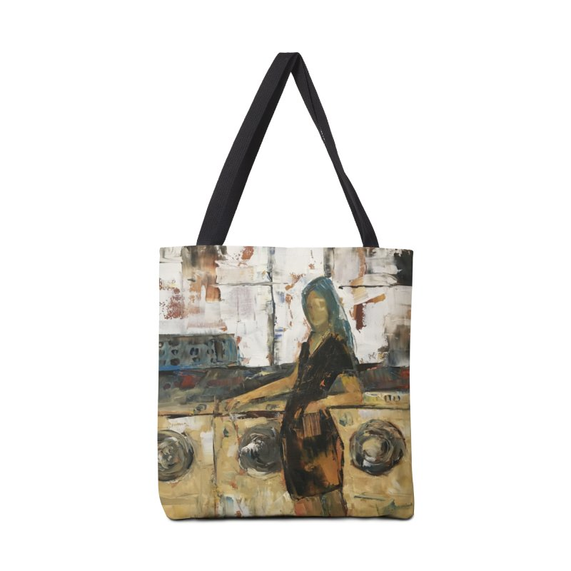 Laundry Day Accessories Tote Bag Bag by JPayneArt's Artist Shop