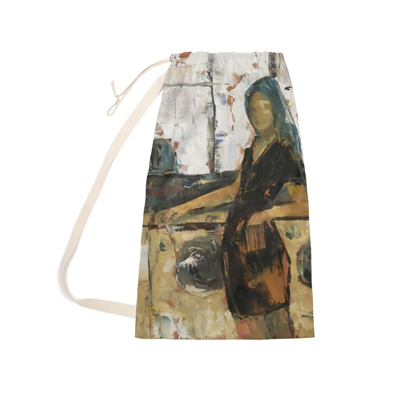 Laundry Day Accessories Laundry Bag Bag by JPayneArt's Artist Shop