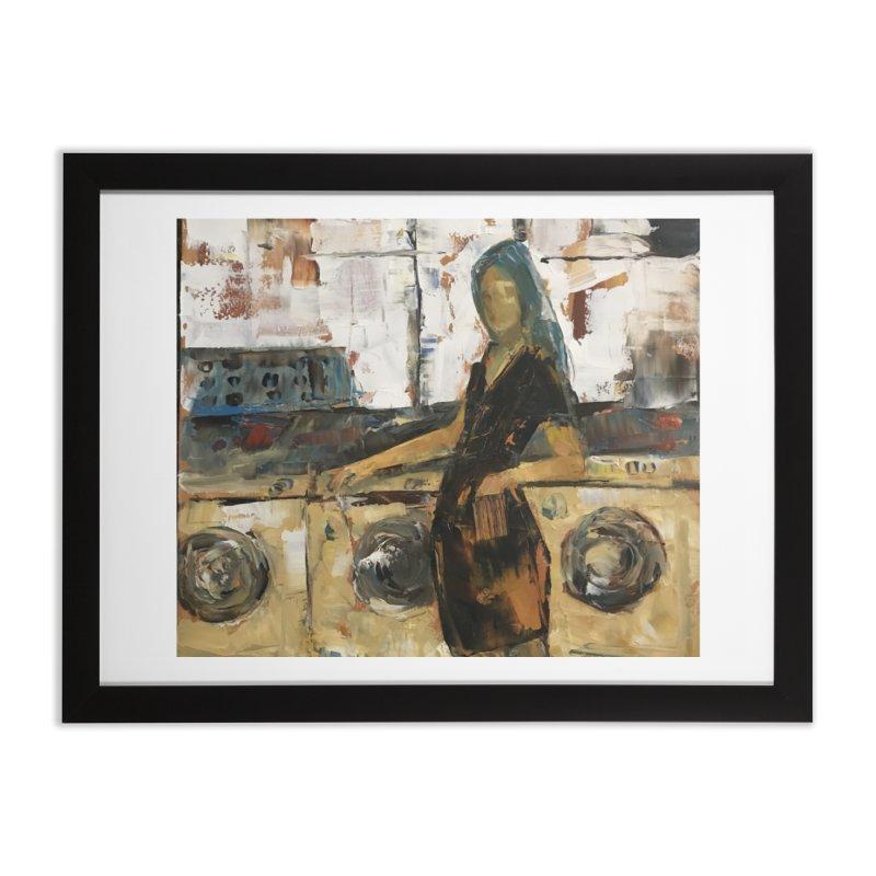 Laundry Day Home Framed Fine Art Print by JPayneArt's Artist Shop