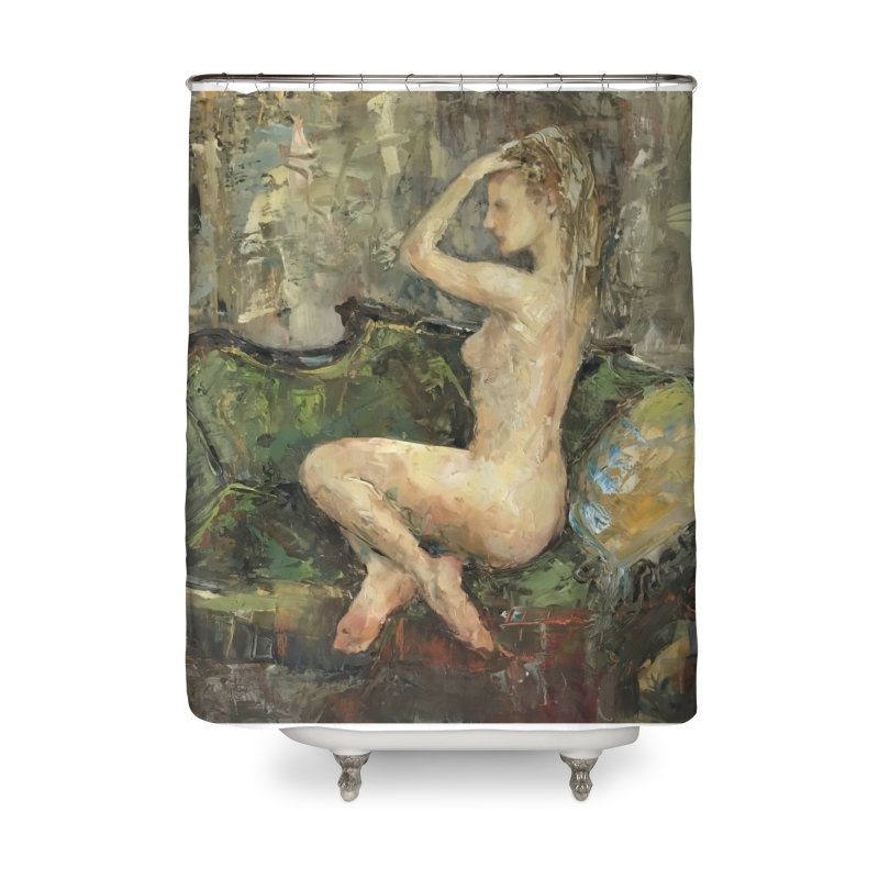 Emauralde Home Shower Curtain by JPayneArt's Artist Shop