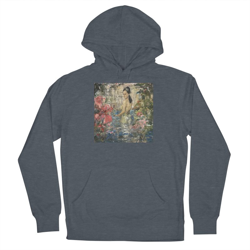 Naupaka Women's French Terry Pullover Hoody by JPayneArt's Artist Shop