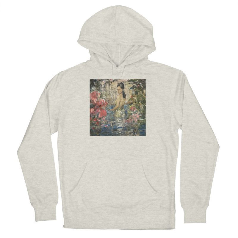 Naupaka Men's French Terry Pullover Hoody by JPayneArt's Artist Shop