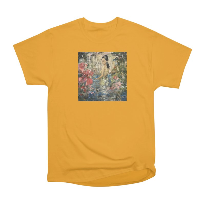Naupaka Men's Heavyweight T-Shirt by JPayneArt's Artist Shop