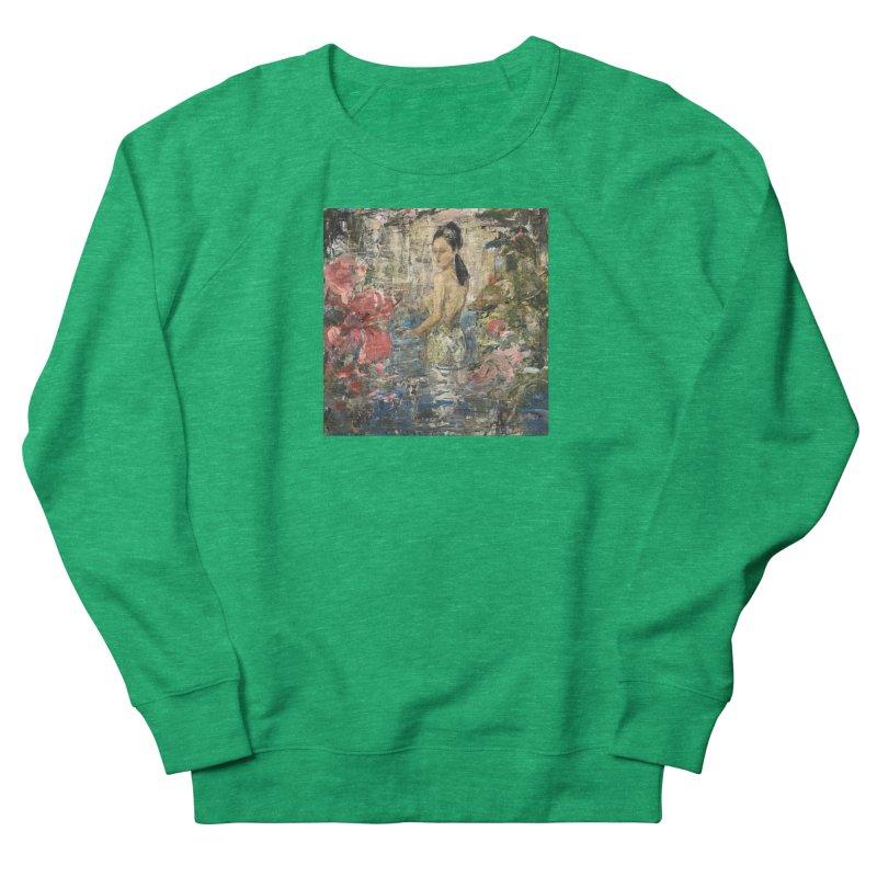 Naupaka Women's French Terry Sweatshirt by JPayneArt's Artist Shop
