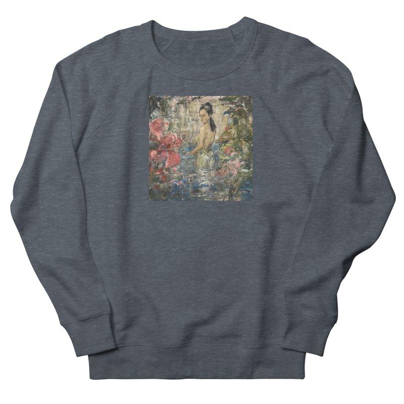 Naupaka Men's French Terry Sweatshirt by JPayneArt's Artist Shop