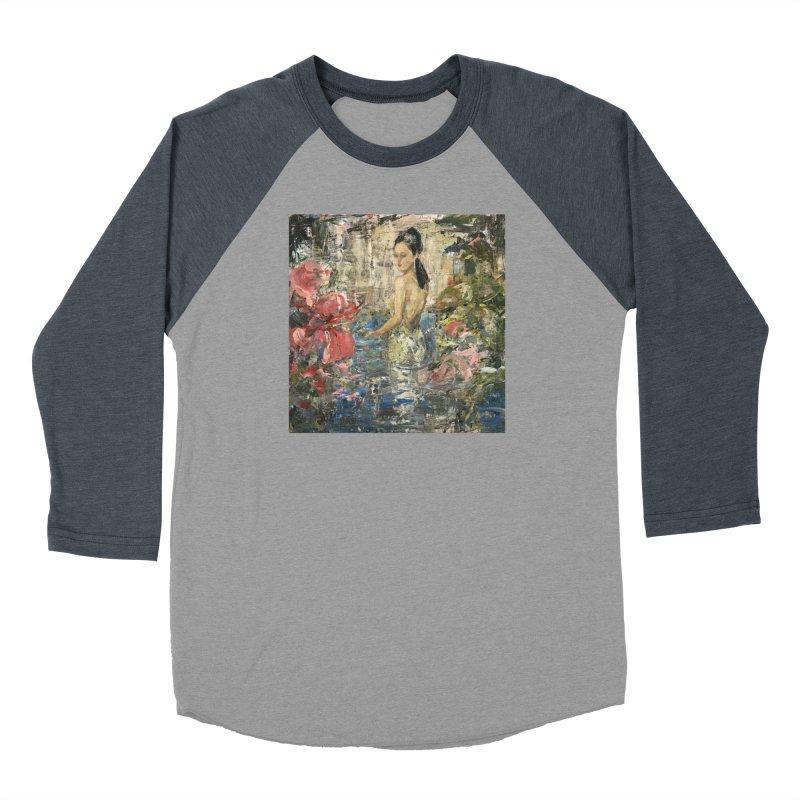 Naupaka Women's Baseball Triblend Longsleeve T-Shirt by JPayneArt's Artist Shop
