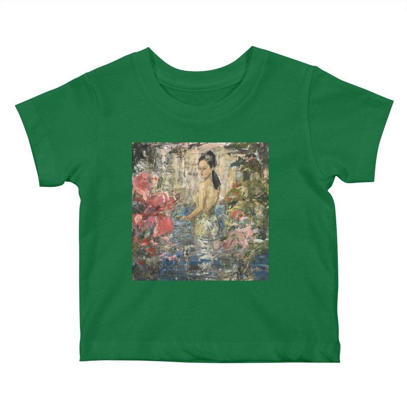Naupaka Kids Baby T-Shirt by JPayneArt's Artist Shop