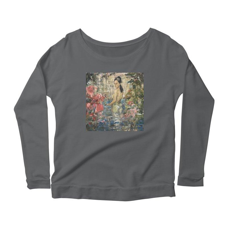 Naupaka Women's Longsleeve T-Shirt by JPayneArt's Artist Shop