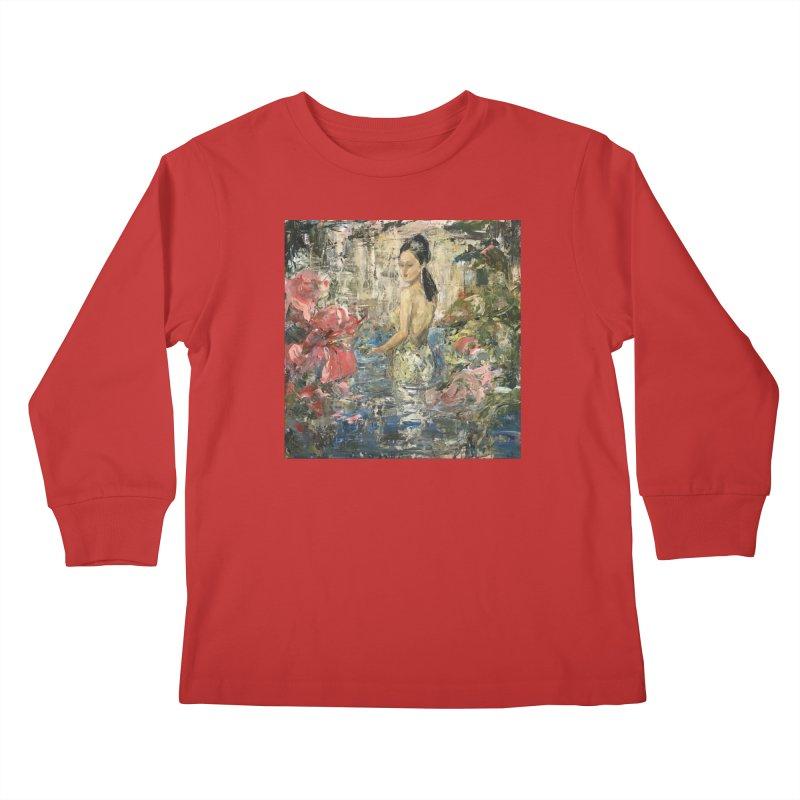 Naupaka Kids Longsleeve T-Shirt by JPayneArt's Artist Shop
