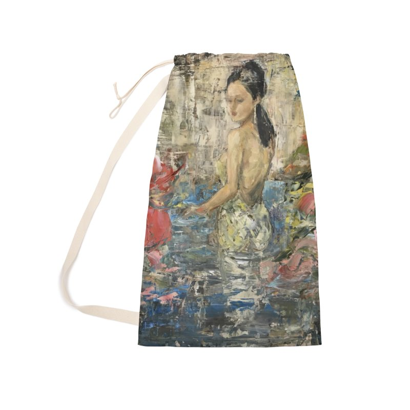 Naupaka Accessories Laundry Bag Bag by JPayneArt's Artist Shop