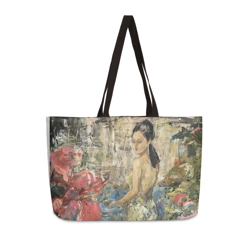 Naupaka Accessories Weekender Bag Bag by JPayneArt's Artist Shop
