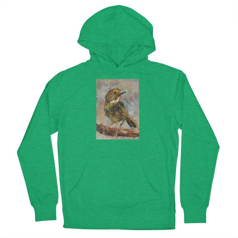 Little Bird Men's French Terry Pullover Hoody by JPayneArt's Artist Shop