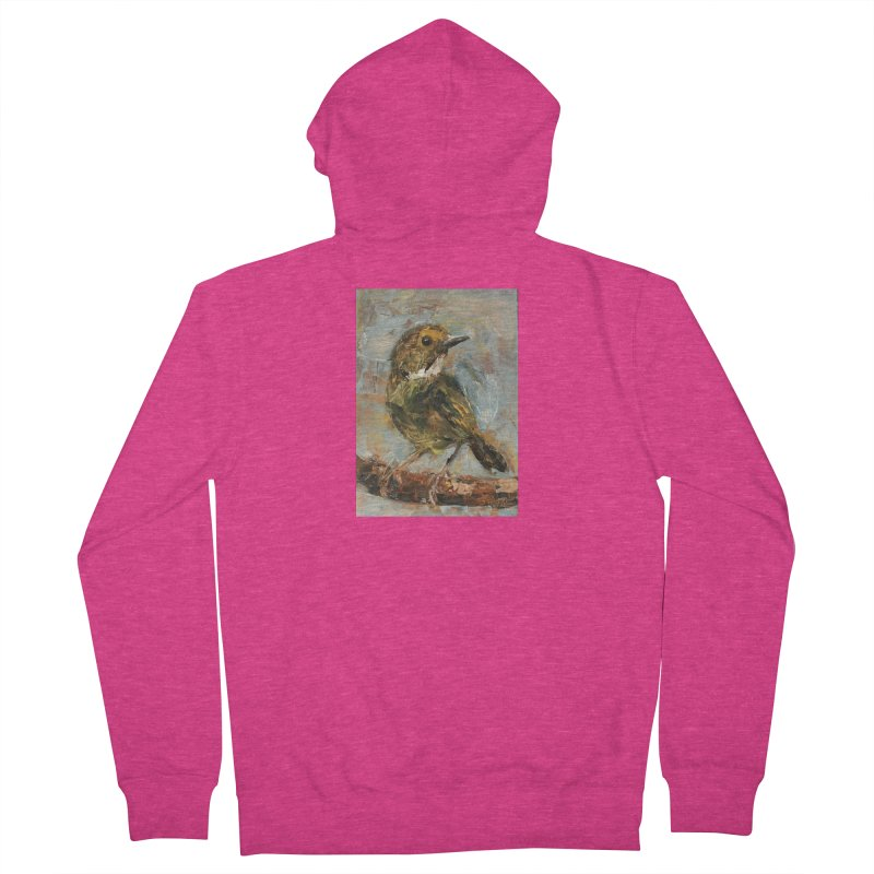Little Bird Women's French Terry Zip-Up Hoody by JPayneArt's Artist Shop