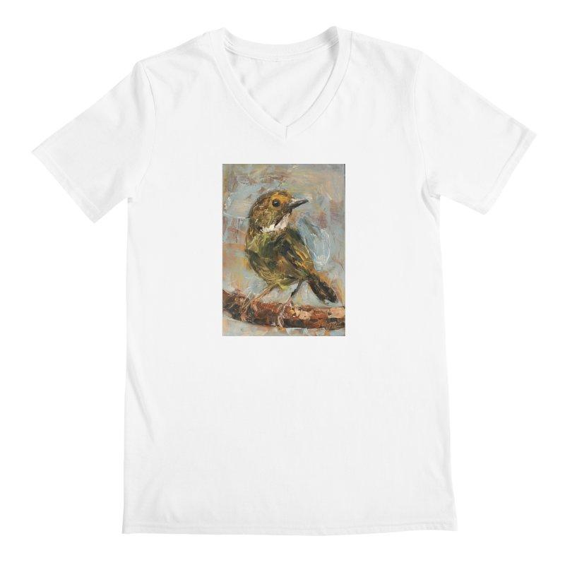 Little Bird Men's V-Neck by JPayneArt's Artist Shop