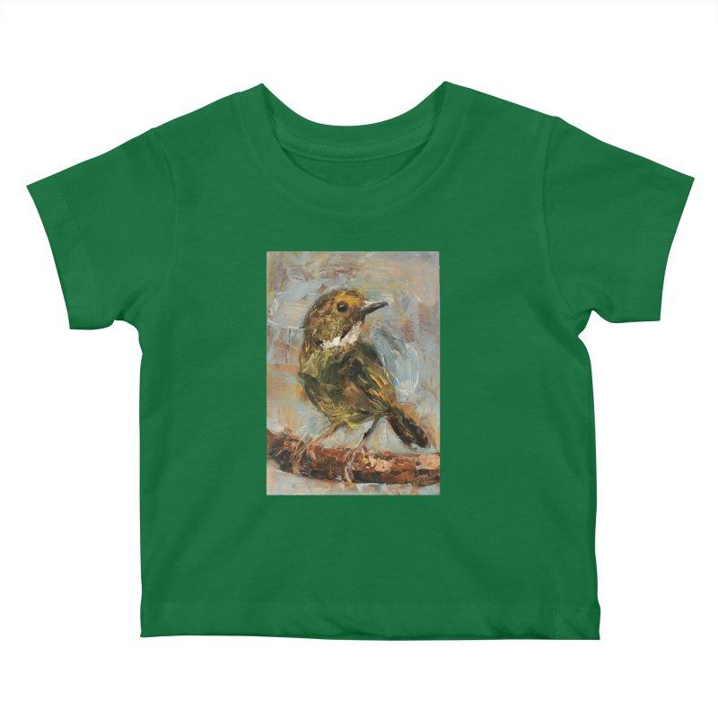 Little Bird Kids Baby T-Shirt by JPayneArt's Artist Shop