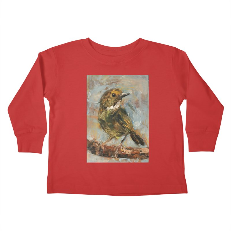 Little Bird Kids Toddler Longsleeve T-Shirt by JPayneArt's Artist Shop