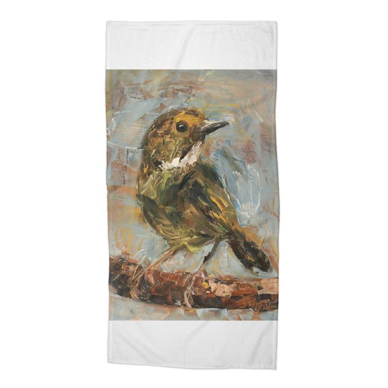 Little Bird Accessories Beach Towel by JPayneArt's Artist Shop