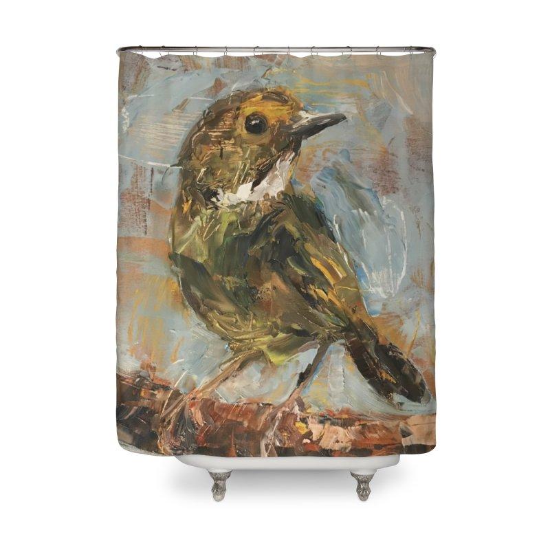 Little Bird Home Shower Curtain by JPayneArt's Artist Shop
