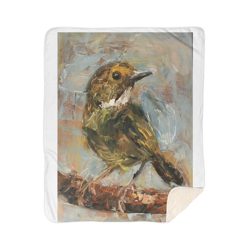 Little Bird Home Sherpa Blanket Blanket by JPayneArt's Artist Shop