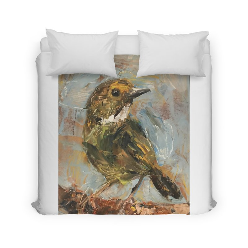 Little Bird Home Duvet by JPayneArt's Artist Shop