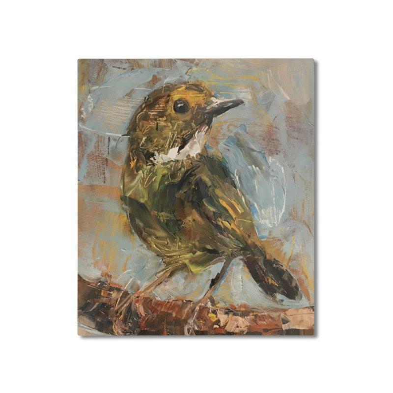 Little Bird Home Mounted Aluminum Print by JPayneArt's Artist Shop