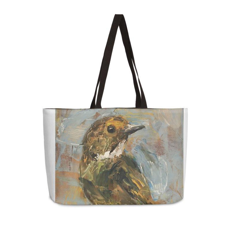 Little Bird Accessories Weekender Bag Bag by JPayneArt's Artist Shop