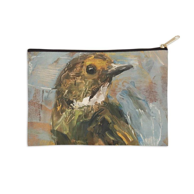 Little Bird Accessories Zip Pouch by JPayneArt's Artist Shop