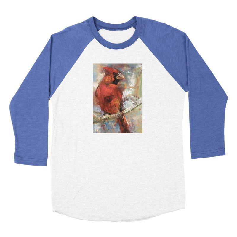 Cardinal Women's Baseball Triblend Longsleeve T-Shirt by JPayneArt's Artist Shop