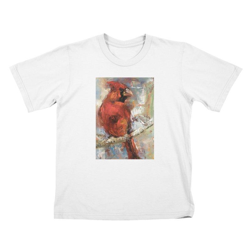 Cardinal Kids T-Shirt by JPayneArt's Artist Shop
