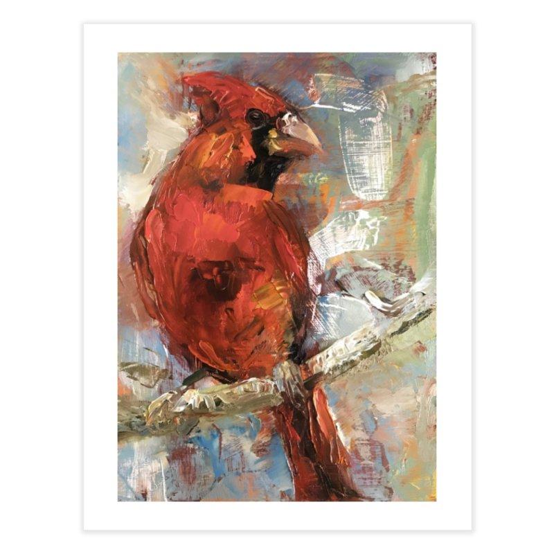 Cardinal Home Fine Art Print by JPayneArt's Artist Shop