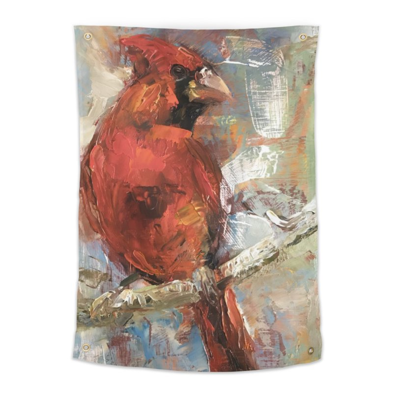 Cardinal Home Tapestry by JPayneArt's Artist Shop