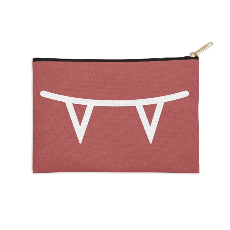 Team Edward Accessories Zip Pouch by Jac=Jake