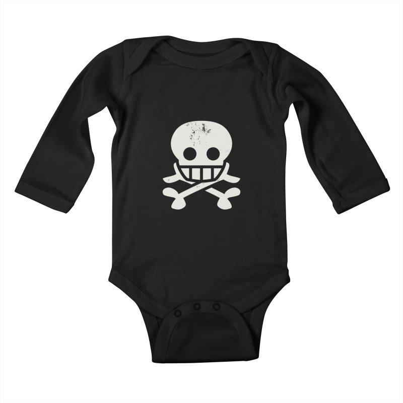 Skullio Kids Baby Longsleeve Bodysuit by Jac=Jake