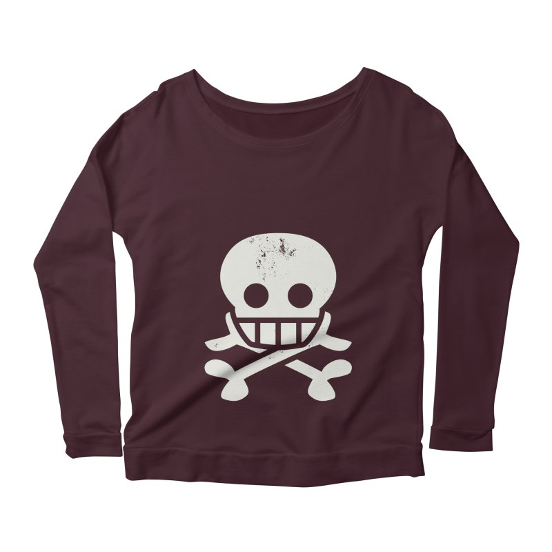 Skullio Women's Longsleeve Scoopneck  by Jac=Jake
