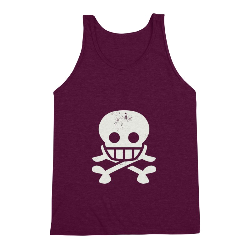 Skullio Men's Triblend Tank by Jac=Jake
