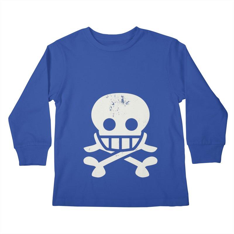 Skullio Kids Longsleeve T-Shirt by Jac=Jake