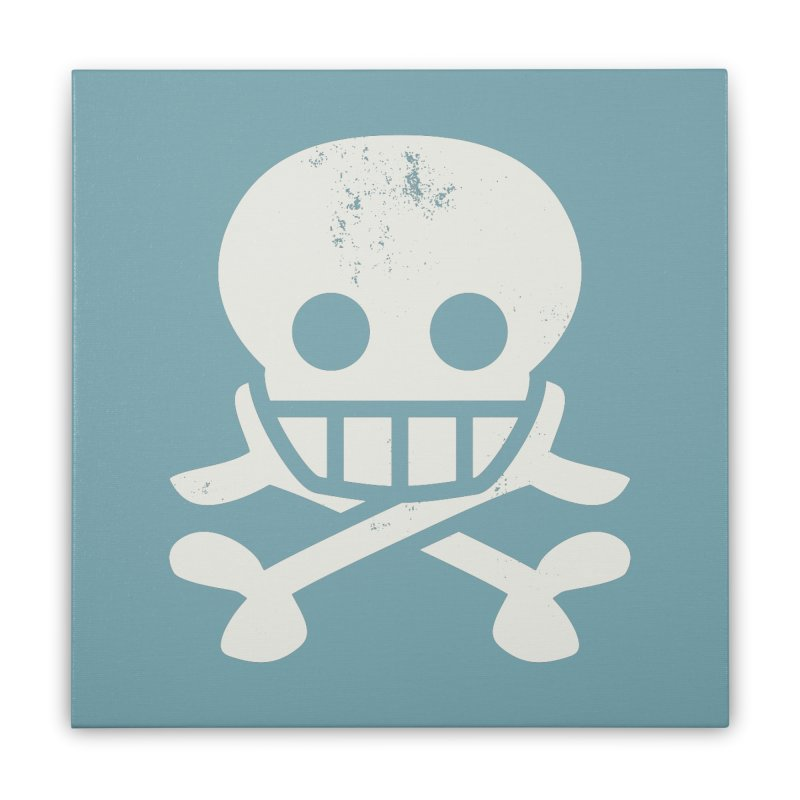 Skullio Home Stretched Canvas by Jac=Jake
