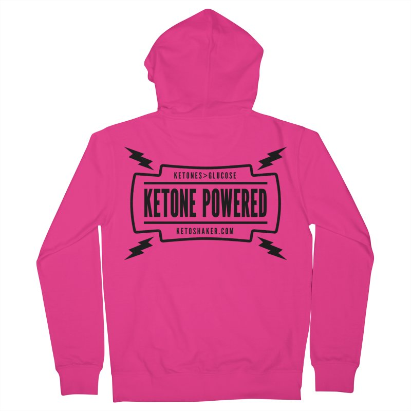 Ketone Powered Men's Zip-Up Hoody by Jac=Jake