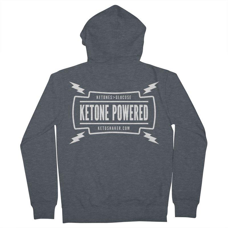 Ketone Powered Too Men's Zip-Up Hoody by Jac=Jake